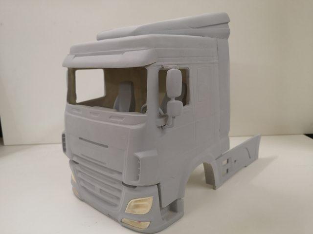 Fahrerhaus von BAM-Modellbau