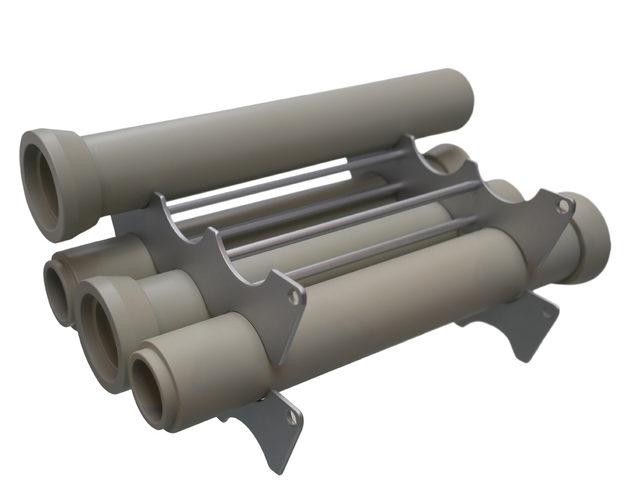 Kanalrohrtransportgestell bei NBL Funktionsmodellbau