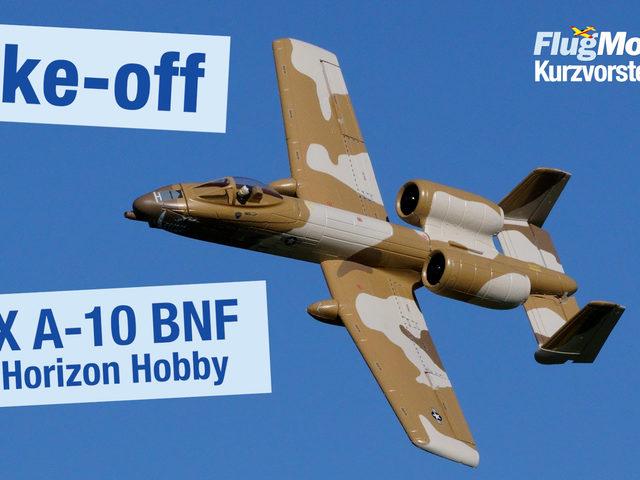 Video: Take-off der UMX A-10 BNF von Horizon Hobby – das etwas andere Unboxing