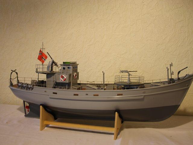 KFK Vorpostenboot: neuer Komplettbausatz von Modellbau Sievers