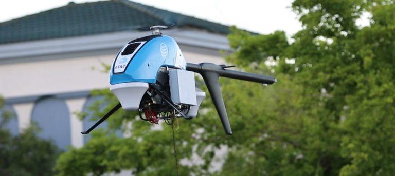 LTE-Drohne von AT&T ermöglicht Kommunikation in Katastrophengebiet