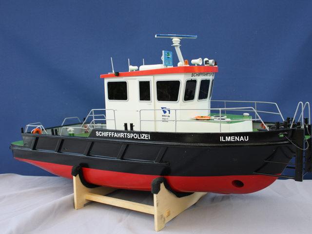 Bausatzmodell ILMENAU von Modellbau Sievers