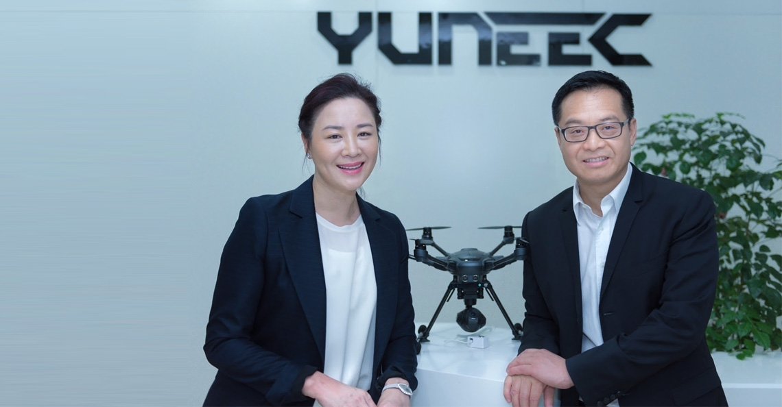Frischer Wind bei Yuneec: Michael Jiang neuer Global Chief Executive Officer
