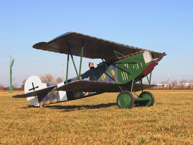 Fokker D-VII mit Soundmodul von Benedini – Umbau eines ARF-Modells zum Unikat – Modellportrait