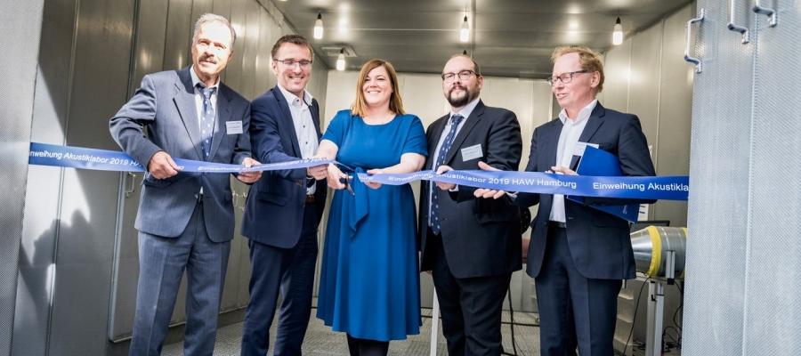 Akustiklabor der HAW Hamburg eröffnet