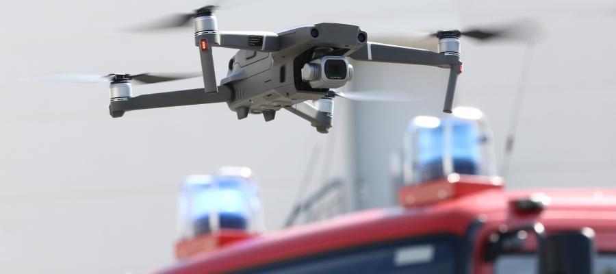 Drohnen im Bevölkerungsschutz