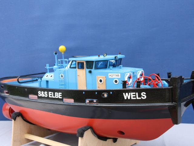 Hafenschlepper WELS von Sievers Modellbau