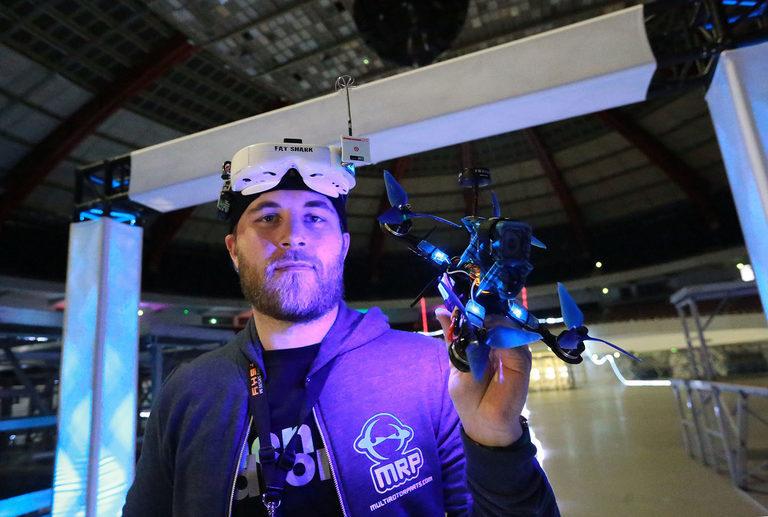 Intercopter Racing Cup auf der Intermodellbau in Dortmund
