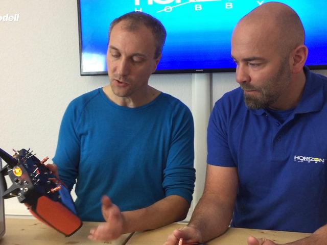 Kurzvorstellung des RC-Senders iX20 von Horizon Hobby im Video