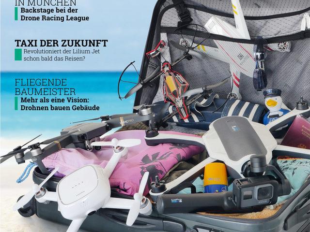 Ausgabe 4/2017 von Drones als Digitalmagazin erhältlich