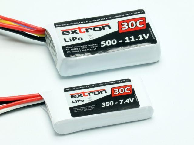 Extron LiPo-Akkus