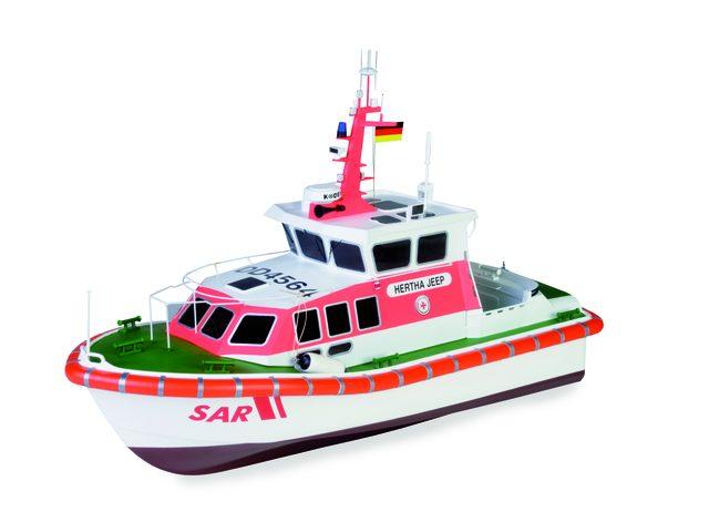 Seenotrettungsschiff HERTHA JEEP von Graupner