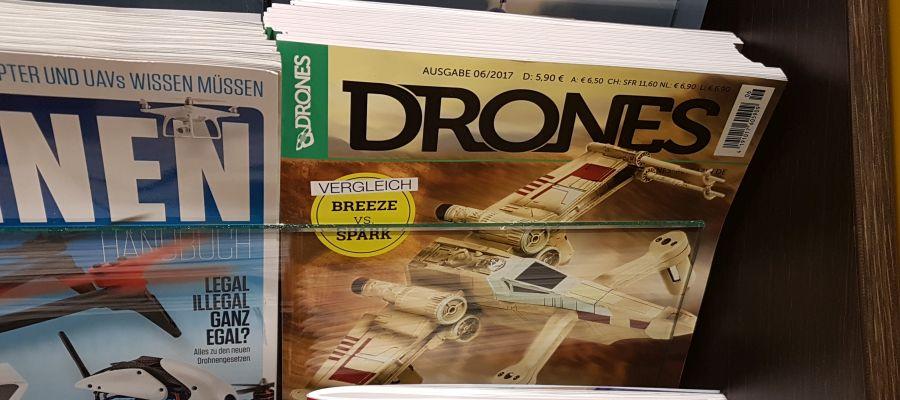 Drones 6/2017 jetzt im Handel
