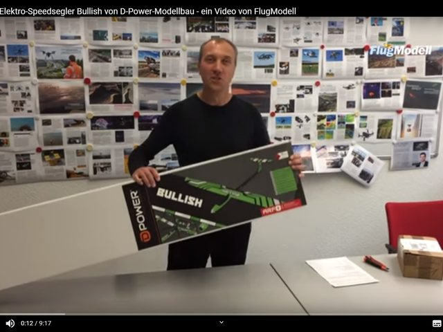 UNBOXING-VIDEO BULLISH VON D-POWER-MODELLBAU
