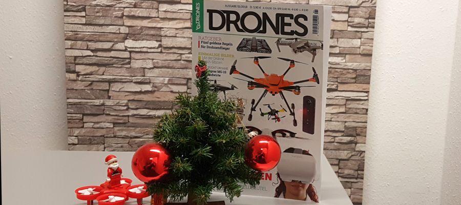 Drones 1/2018 jetzt im Handel