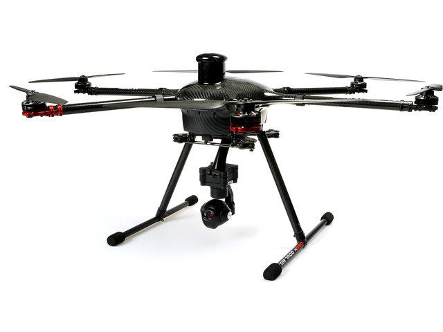 Kameraadapter für Yuneecs Profi-Kopter H920 Plus