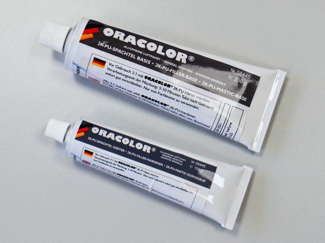Oracolor Zweikomponenten-PU-Spachtelmasse beim Himmlischen Höllein