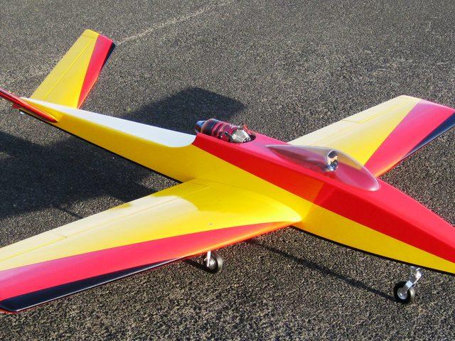 Überarbeiteter Acrojet-Mini von PAF-Flugmodelle