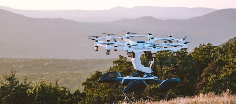 Bemannte Drohne