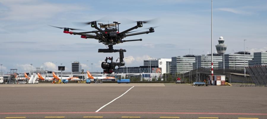Drohnen am Airport
