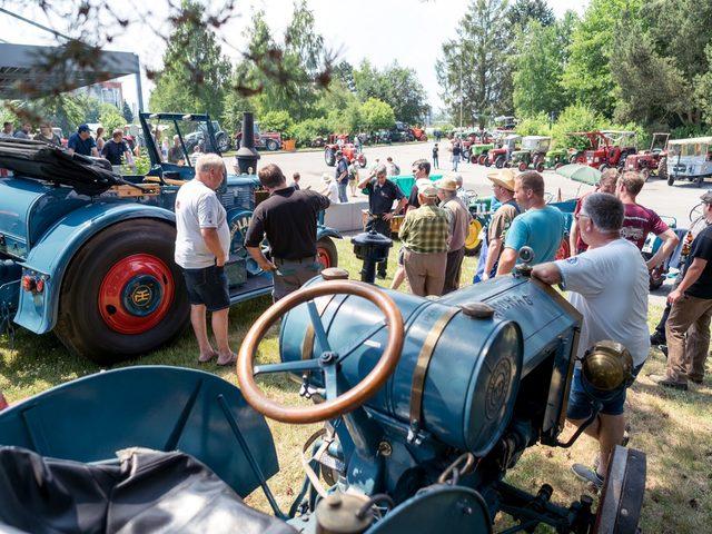 Trecker-Treffen in Einbeck