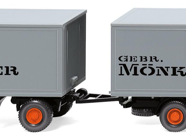 Kofferlastzug von Wiking-Modellbau