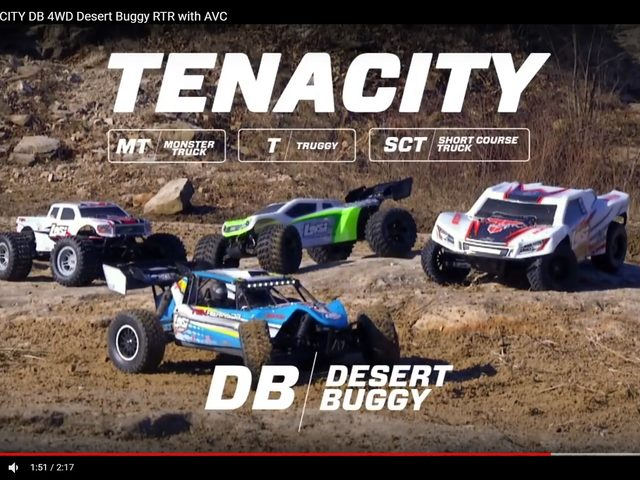 Losi TENACITY-DB 4X4 im coolen Video