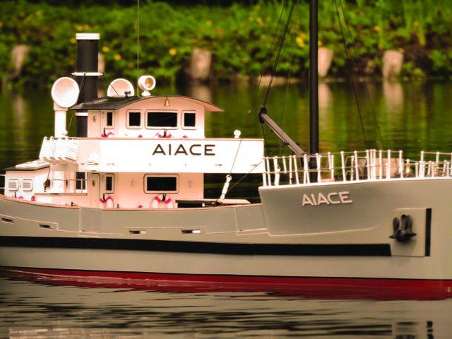AIACE-Frachtschiff als Bausatz von Krick