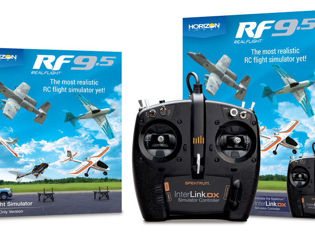 RealFlight 9.5 RC-Flight-Simulator von Horizon Hobby