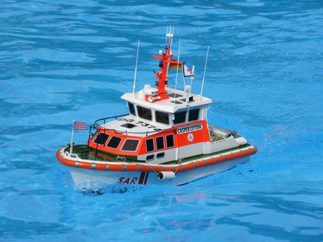 Testbericht und Video CASPER OTTEN von Graupner in SchiffsModell 12/2017