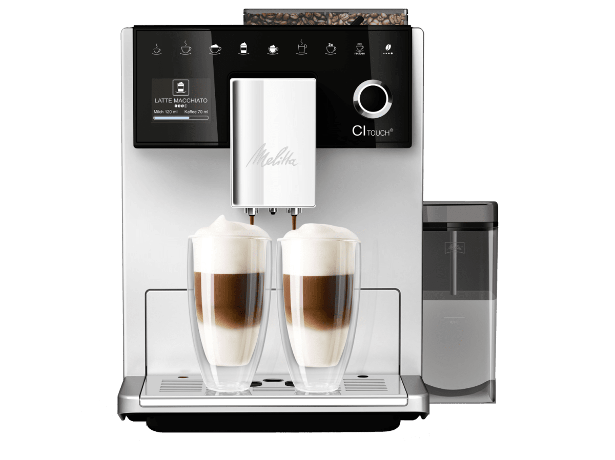 melitta ci touch kaffee vollautomaten gratis testen. Black Bedroom Furniture Sets. Home Design Ideas