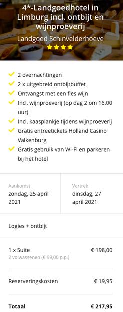 Partner Link traveldeal-nl