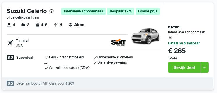 Partner Link kayak_nl_car_wl