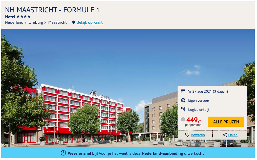 Partner Link tui_nl_packages_affiliate