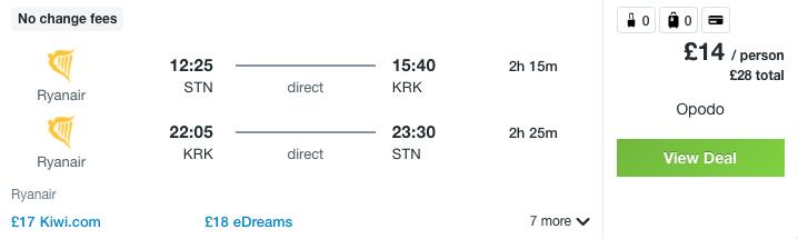 Partner Link kayak_uk_flights_wl