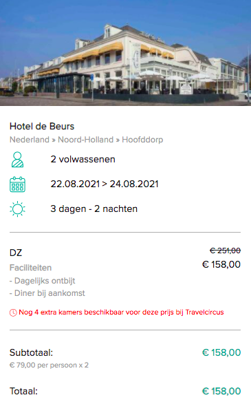 Partner Link travelcircus_nl_packages_direct