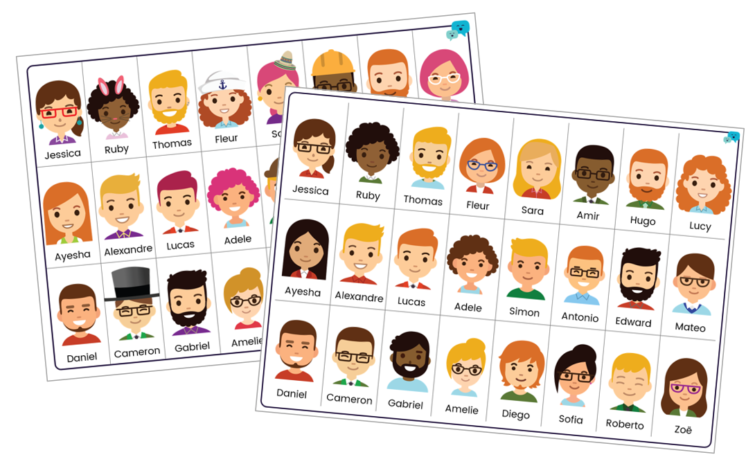 photo about Guess Who Printable titled Wager Who Cost-free Language Materials Languagenut