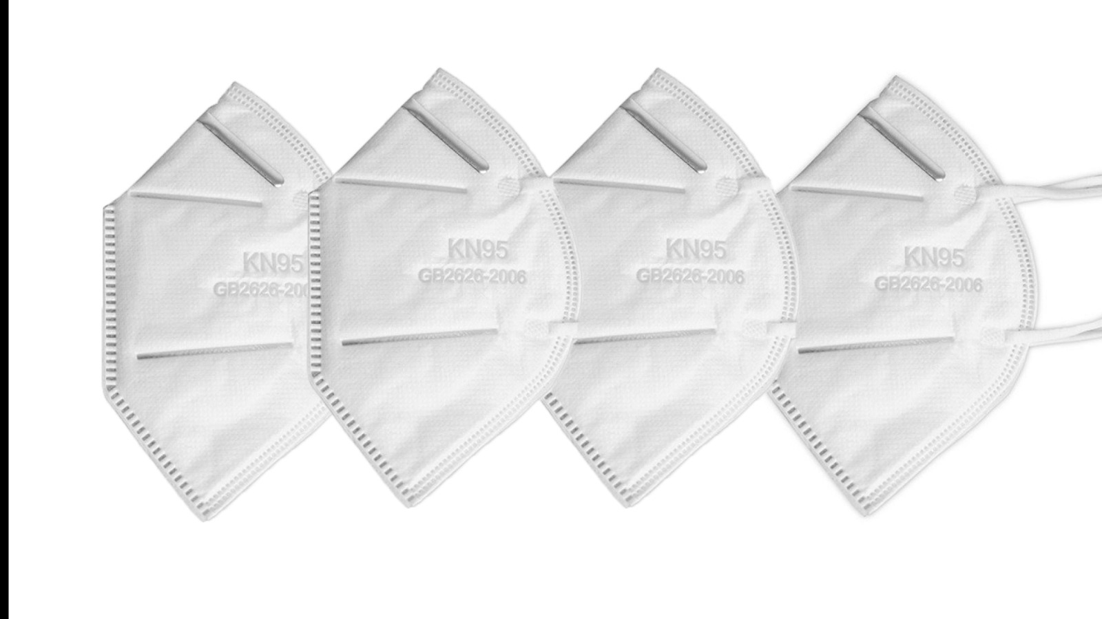 4er Set KN95 Atemschutzmaske