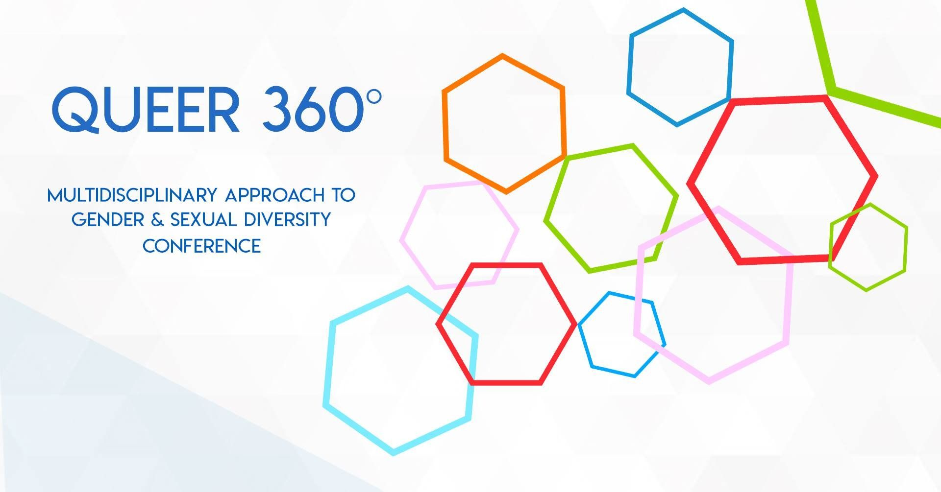 Queer 360 conference poster