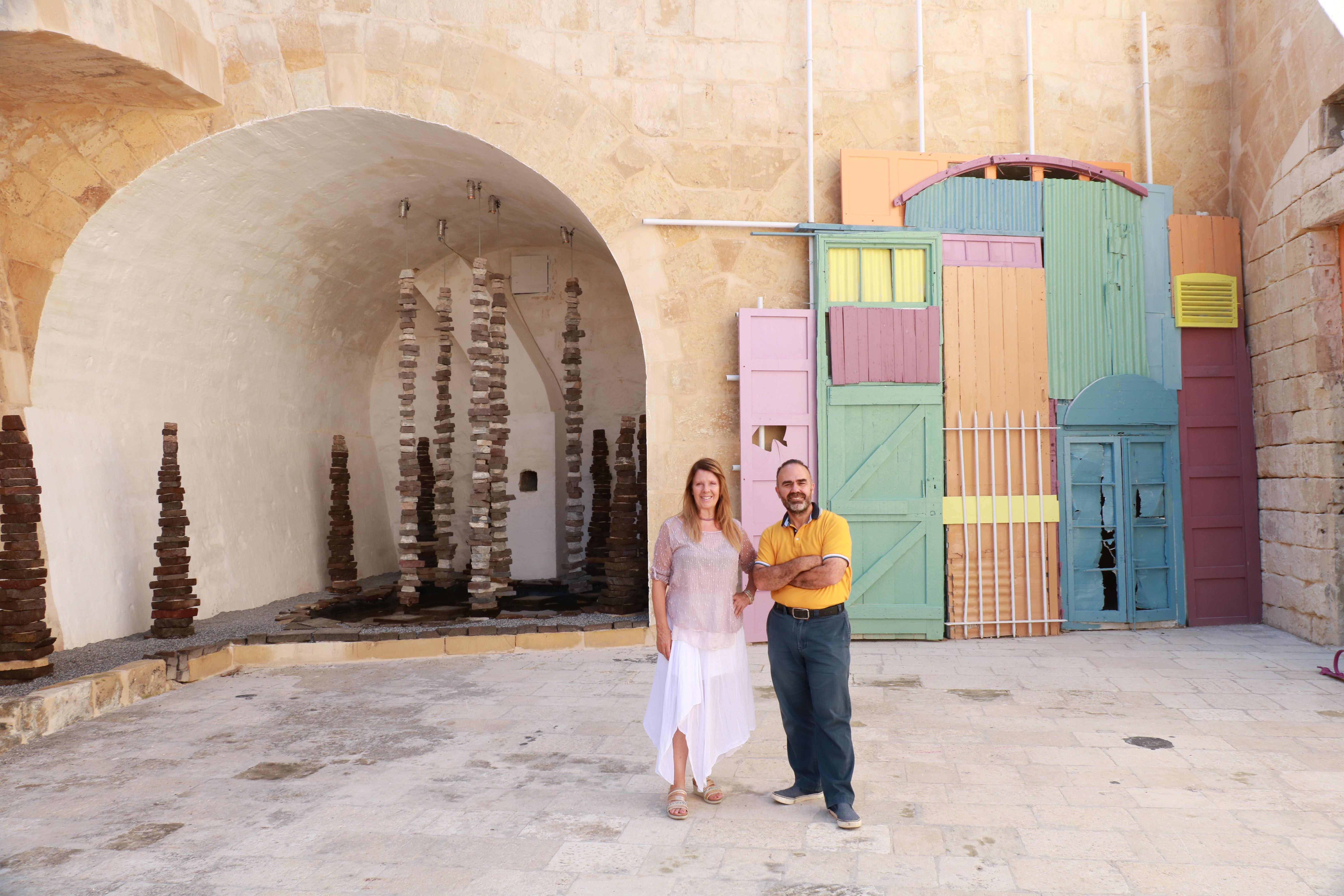 Dr Ruth Bianco and Architect Claude Borg