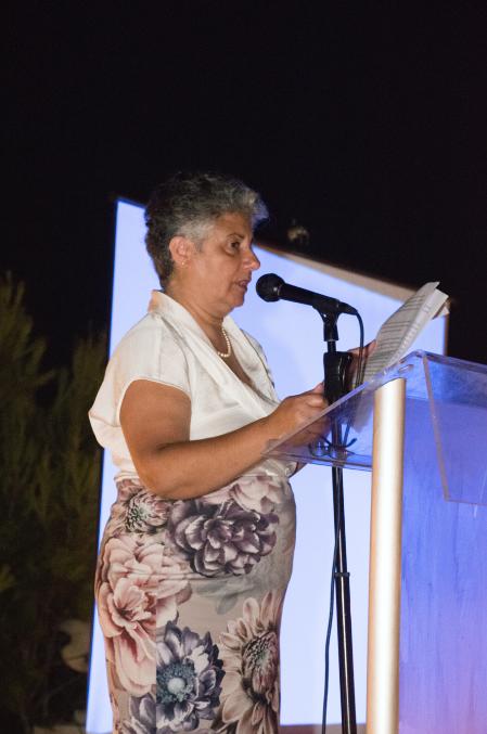 Ms Josanne Cutajar, GUG's first President