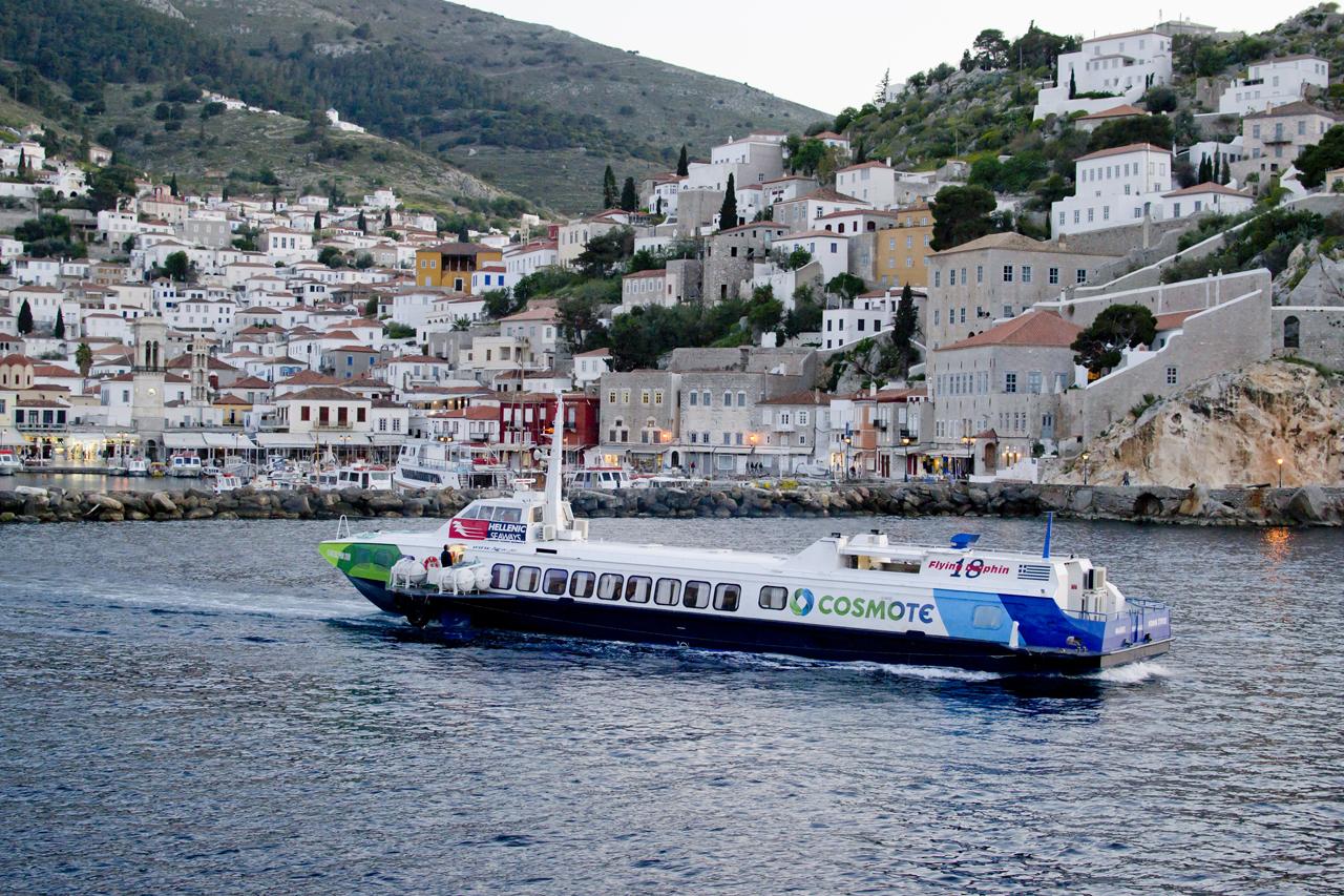 ferries piraeus to hydra