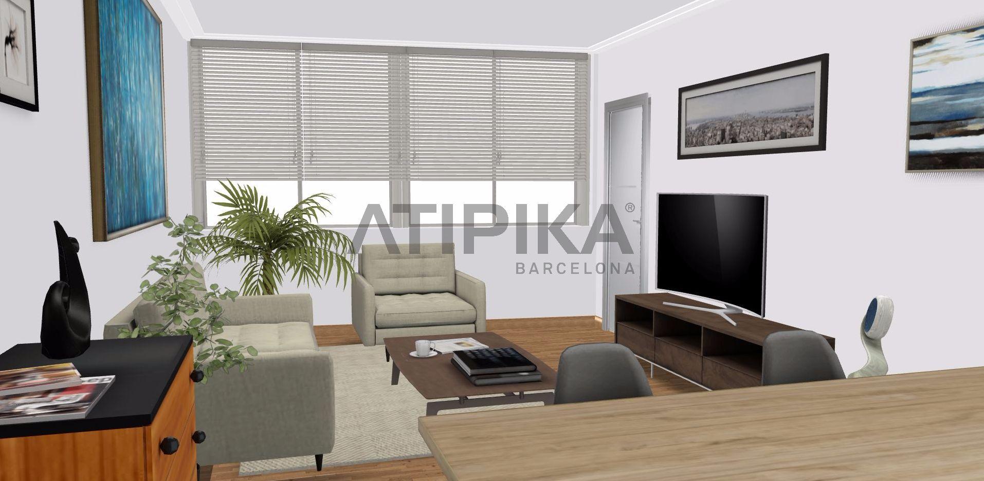Office with possibility to turn into an apartment in 'La Vila de Gràcia'