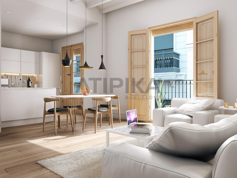 Fantastic flat with community terrace next to 'Plaça Sant Jaume'