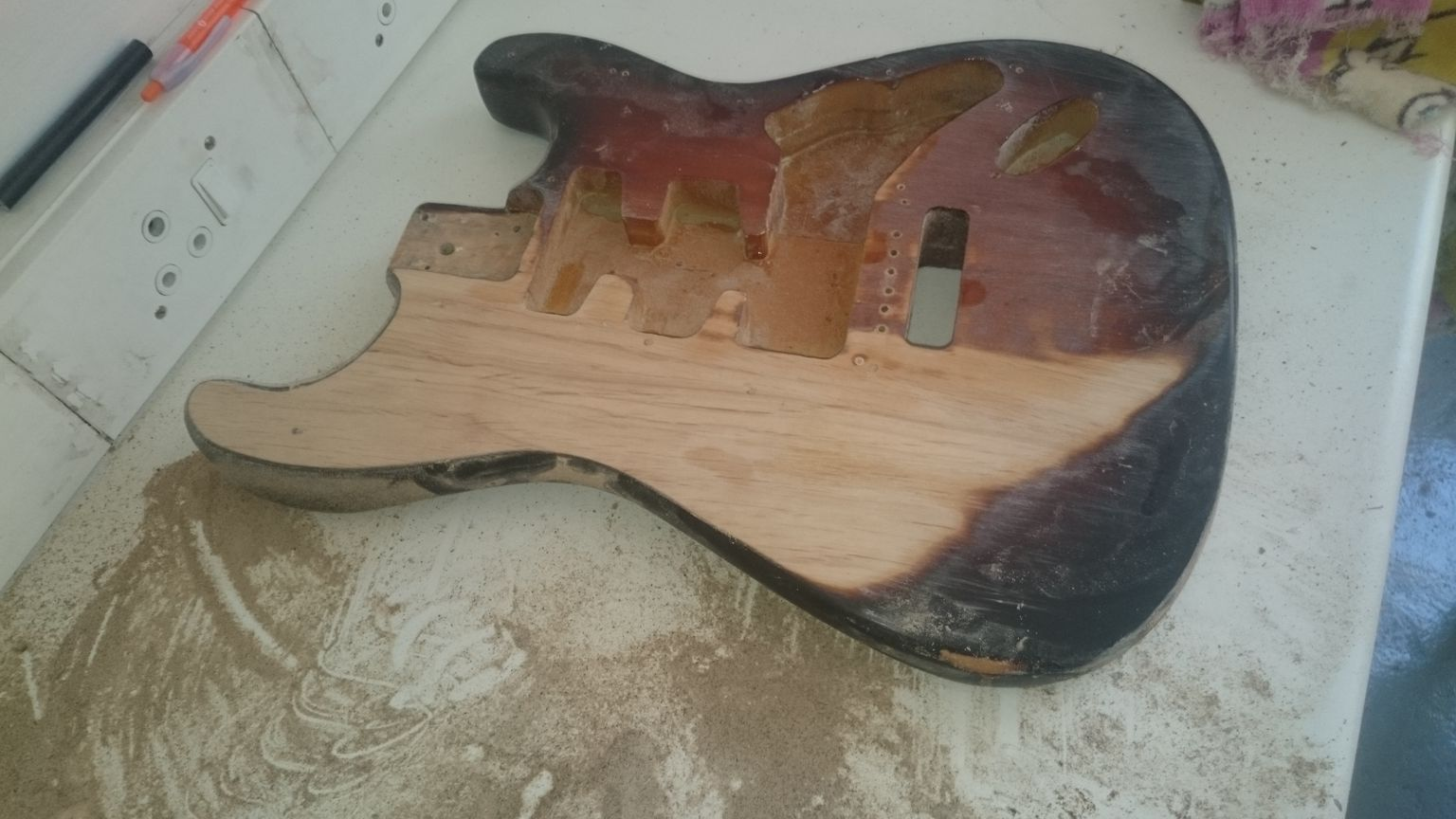 My first guitar re-build: Stratocaster - GuitarTalk Community