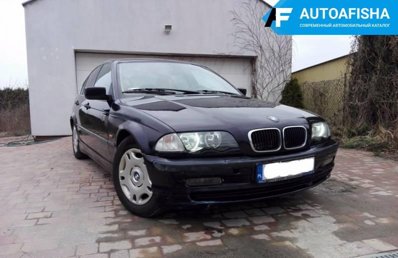 BMW 320 Е46 1998