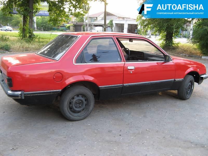 Opel Rekord Berlina 1982