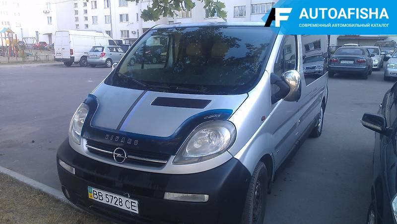 Opel Vivaro пасс. 1.9 TD 2002