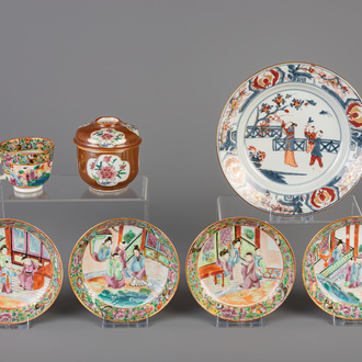 A varied collection of Chinese porcelain, 18th/19th C.