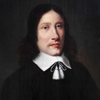 French school, circle of Philippe de Champaigne (1602-1674): Portrait of a gentleman, oil on panel, 17th C.
